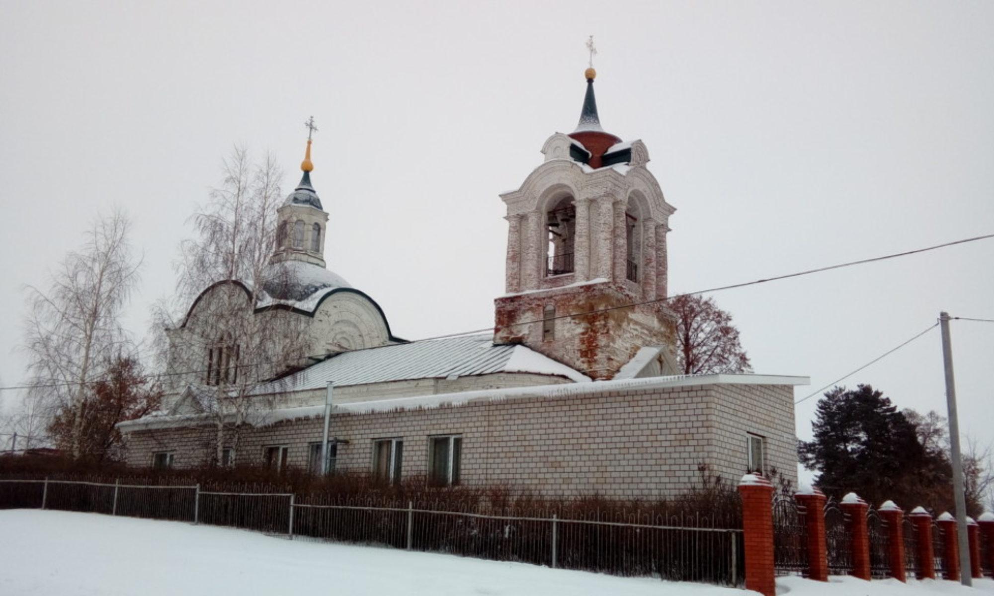 Храм в честь святого пророка Божия Илии села Ильинское Малопургинского района Удмуртской Республики